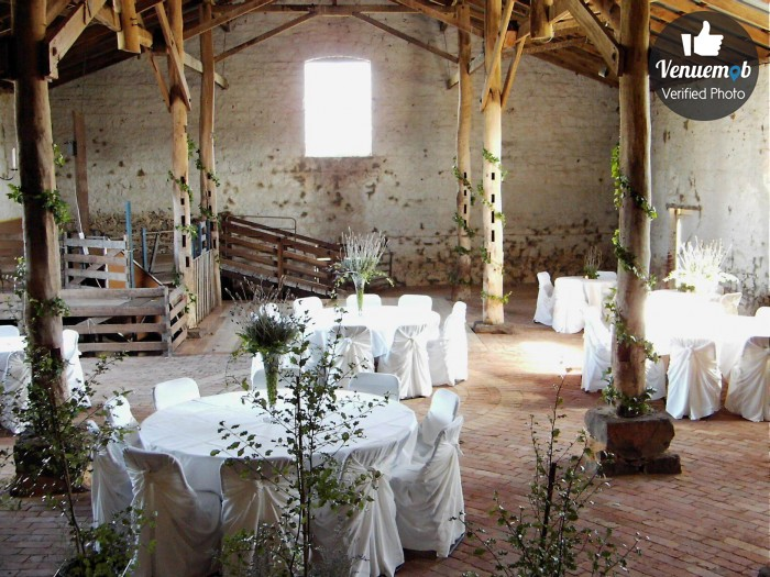 19th century bluestone shearing shed Function Area