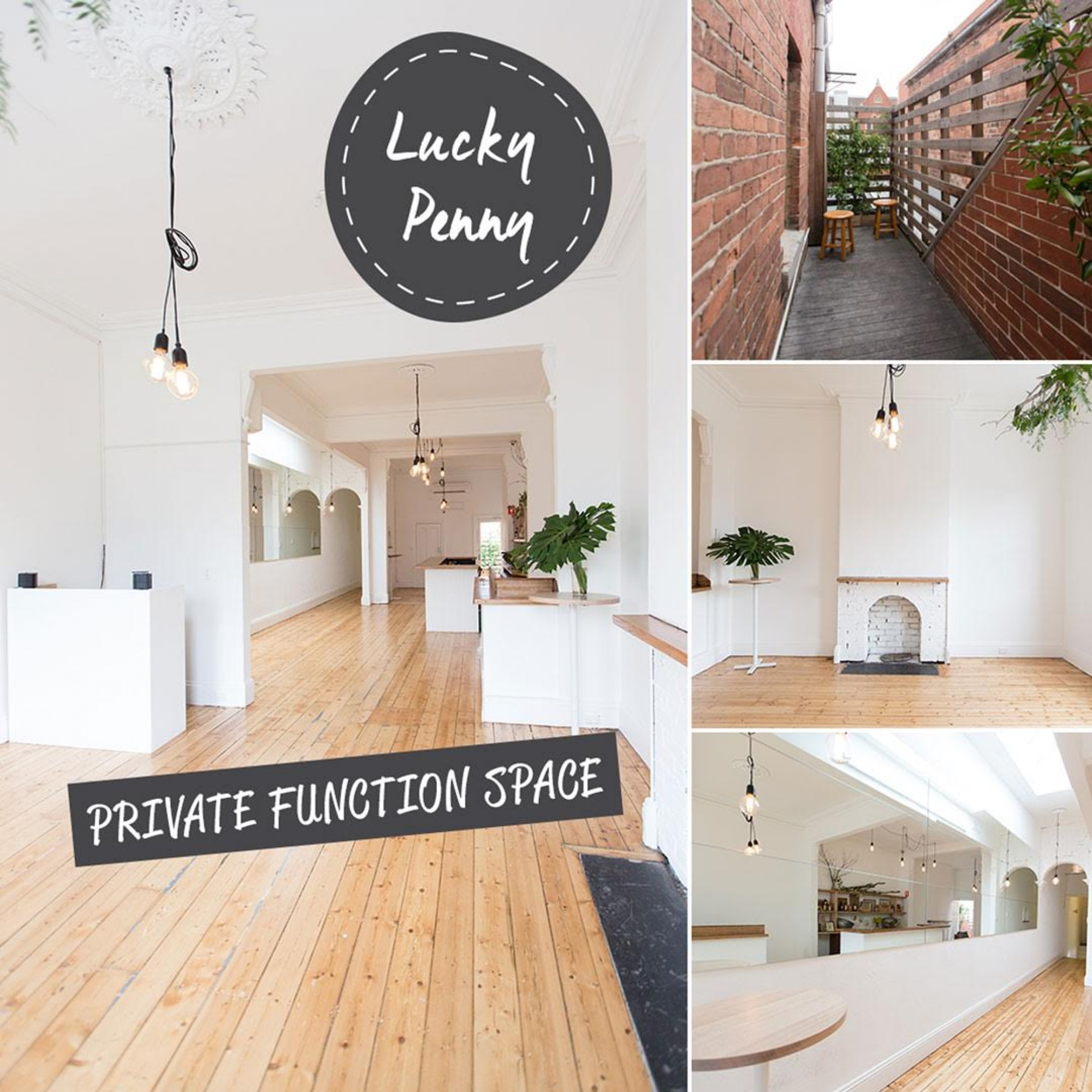 Chapel Street Functions By The Lucky Penny: Book & Save