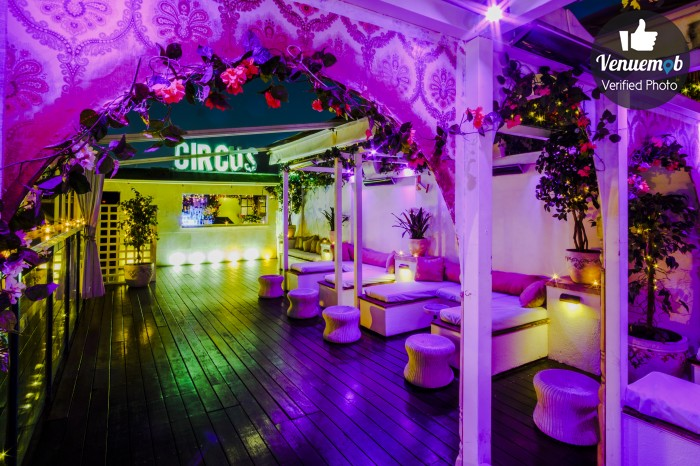 Circus Bar and Nightclub Function Area