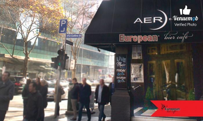 European Bier Cafe Function Area