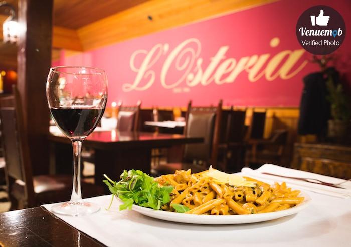 L'Osteria Restaurant Function Area